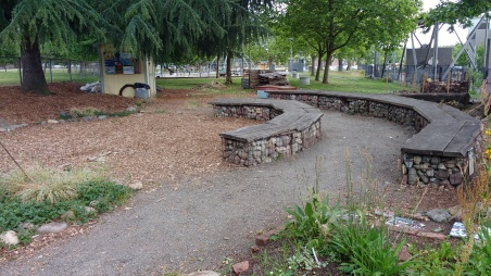 Outdoor classroom, Rainier Beach Learning Garden