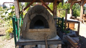 Outdoor oven, Hood River Middle School