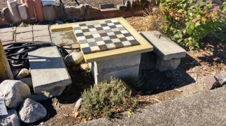 Game table, Roxbury P-Patch