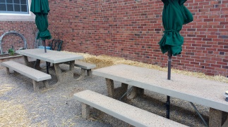 Picnic tables for garden projects, Bagley Elementary