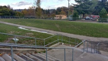 Track around field, Concord Elementary